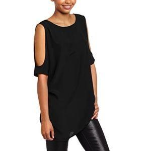 NWT BB Dakota Black Cold Shoulder Dress